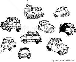 車のイラスト素材 40904889 Pixta