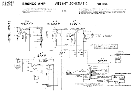 fender amp field guide contents bronco ab764 schematic