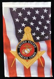 details about masonic u s marine corps u s flag garden flag