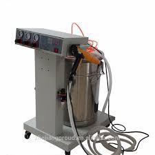 zhejiang electrostatic spray painting equipment aluminium powder coating machine for metal sheet powder coating machine aluminium powder coating