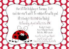 Ladybug Invitations Template Free Ladybug Invitation Template Birthday Wording Font Free Download