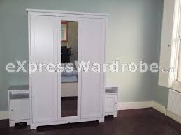ikea aspelund wardrobe with 3 doors