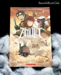 kids view the cloud searchers by kazu kibiushi the amulet series book 3
