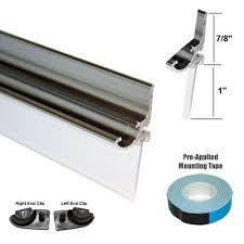 chrome framed shower door replacement