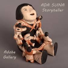 ADA SUINA Pueblo Pottery Figurine C4401-27 - Adobe Gallery, Santa Fe