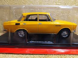 Легендарные Советские Автомобили журнал №43 с моделью Москвич-2140 1:24  купить в Украине