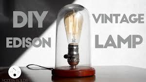 diy modern lighting. DIY Glass Cloche Lamp | Modern Builds EP. 15 Cool Edison - YouTube Diy Lighting O