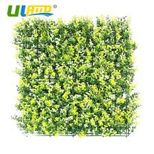 decorative faux grass plants artificial boxwood hedges panels long leaf garden wedding decor greenery fence wall