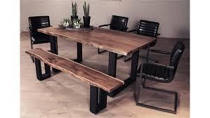 Esstisch Akazie Ausziehbar Tisch Mit Baumscheibe Finest Full Size