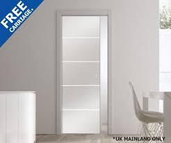 frameless glass pocket doors. Modern Single Pocket Doors Glass And Door Shop Eclisse Righe Complete Package Frameless O
