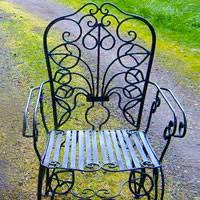 wrought iron garden furniture. wrought iron furniture french 1890u0027s vintage patio chair garden