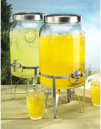 a beautiful way to serve iced tea sangria and other cold beverages this lidded dispenser is especially great to use outdoors as it keeps flies away