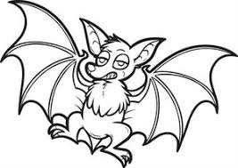 Small Picture Free Printable Cartoon Bat Coloring Page for Kids 2