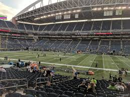 Qwest Field Virtual Seating Chart Centurylink Field Section 107 Seattle Seahawks