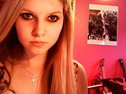 avril lavigne inspired make up look from plicated video requested