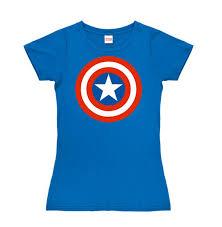 t shirt marvel captain america shield