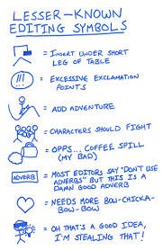 Revising Your Writing Awesome Editing Symbols You Should