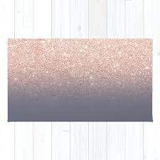 purple and gold rug modern faux rose gold glitter grant on purple grey rug purple green purple and gold rug