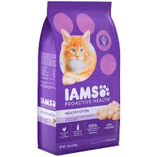 Bright Lights Big Kitty Poster Iams Proactive Health Healthy Kitten With Chicken Dry Cat