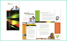 Microsoft Word Pamphlet Creative Microsoft Word Pamphlet Template Of Internet Software