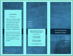 Free E Brochure Design Templates Of Blank Free Brochure