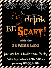 Halloween Invitation Template 24 Download Free Halloween Invitation Templates Odr24 3