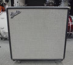Fender 4x10 Guitar Cabinet Used Fender Bassman Pro 410 4x10 Neo Bass Speaker Cabinet Black
