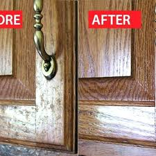 what to use to clean kitchen cabinets ange how to clean grease off kitchen cabinets before