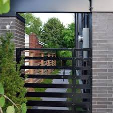 modern metal gate. Stunning Modern Metal Gate Design Designs With  Contemporary Landscape Front Modern Metal Gate