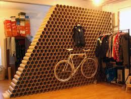 cardboard tube furniture. Cardboard Tubing Makes A Cheap And Stylish Wall, Too. Tube Furniture E