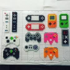 17 best ideas about wii wii game console nintendo gaming controllers perler beads by jake tastic