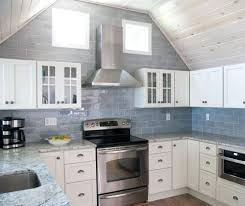 beach glass backsplash tile interior modern farmhouse ...