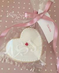 best 25 wedding favours uk ideas on pinterest wedding favours Wedding Giveaways Uk heart cookies with initials wedding favours individually wrapped with coordinating ribbon and guests name wedding giveaway contest
