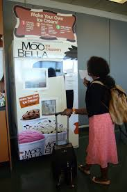 Moobella Vending Machine Simple Snack Saturday Icecreammakingmachine At Boston Logan Stuck At
