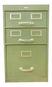 Green File Cabinet Cole Industrial Light Green Metal File Cabinet Chairish