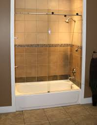 semi frameless shower doors. Semi Frameless - Skyline Tub. On Tub, Look At The Unobstructed View That This Enclosure Provides. Shower Doors R