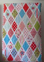 Free Tutorial - Sweet Divinity Diamond Quilt by Johanna & Click Image to Enlarge - Adamdwight.com