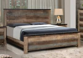 rustic wood bed frame.  Frame Kalen Rustic Wood Bed Epic Frame On O