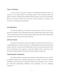a study on employee attitude 6 7