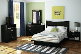 South Shore Furniture Basic Collection Queen Platform Bed with