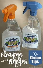 10 kitchen tips for cleaning with vinegar