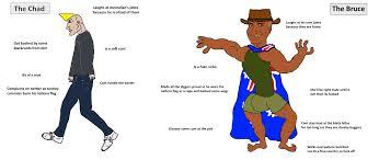 The Virgin Chad vs The Chad Bruce : virginvschad
