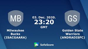 Milwaukee Bucks (ISACGAARA) Golden State Warriors (ANDRADISFC) live score,  video stream and H2H results - SofaScore