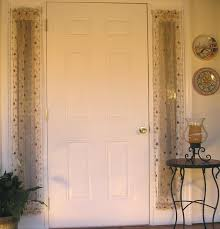 curtain for front doorFront Door Side Window Sheers Awesome Sheer Light Treatments Ideas