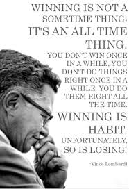 40 Vince Lombardi Quotes About Greatness In Life Everyday Power Impressive Lombardi Quotes