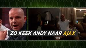 Rondom Ajax Zo Keek Van Der Meijde Naar Juventus Ajax Ajax Showtime