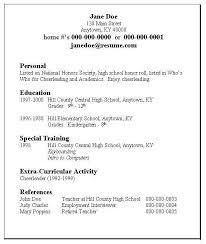 Inspiring Resume Writing Activities For High School Students 7 Resume  Writing For Highschool Students Resume