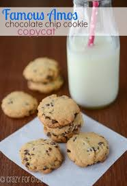 Vending Machine Chocolate Chip Cookies Classy Famous Amos Copycat Chocolate Chip Cookie Crazy For Crust