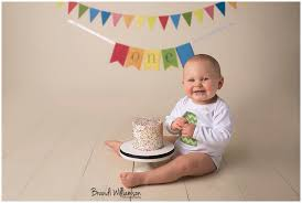 Massillon Oh Babys First Birthday Smash Cake Photographer Josh Vs
