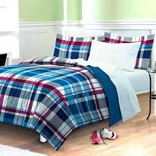 blue plaid quilt plaid bedding sets boys comforter sets awesome boys plaid bedding sets with additional